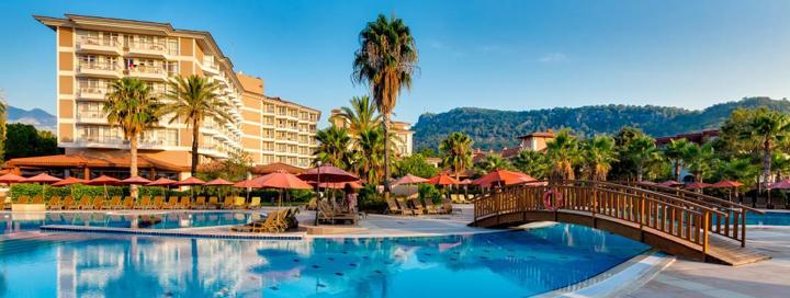 """Išskirtinis komfortas 5* viešbutyje AKKA ALINDA, Kemere, TURKIJOJE! Savaitė su daug pramogų ir """"ultra viskas įskaičiuota""""."""