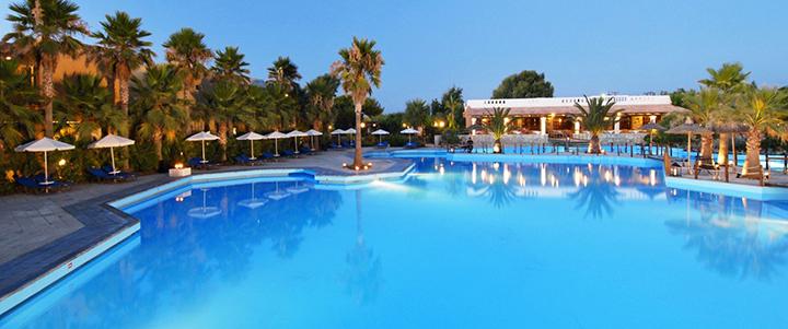 Pasimėgaukite šeimos atostogomis su daug pramogų KRETOJE! Savaitė labai gerame 5* viešbutyje AQUILA RITHYMNA BEACH.