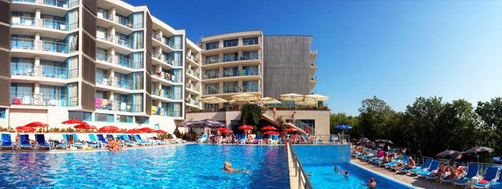 Mėgaukitės puikiais paplūdimiais ir pramogų pilnu kurortu BULGARIJOJE! Savaitė moderniame 4* viešbutyje SLAVEY.