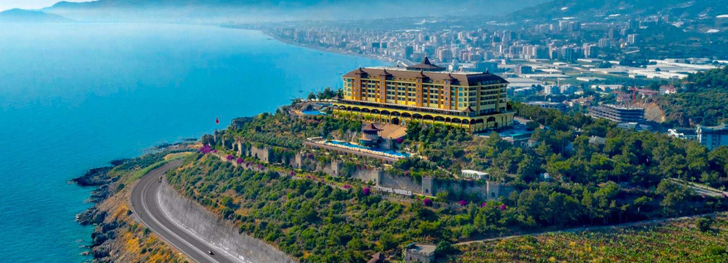 Prabangus poilsis TURKIJOJE nepaprasto grožio vietoje! 7 n. puikiame 5* viešbutyje UTOPIA WORLD.