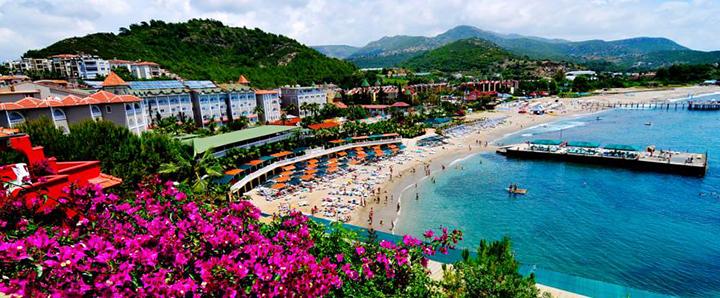 Turiningai praleiskite atostogas žydros jūros pakrantėje TURKIJOJE! Savaitė gerame 5* viešbutyje KEMAL BAY.