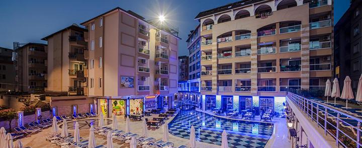 Aktyvios atostogos pramogaujant ALANIJOS kurorte, Turkijoje! Savaitė labai gerai vertinamame 4* viešbutyje.