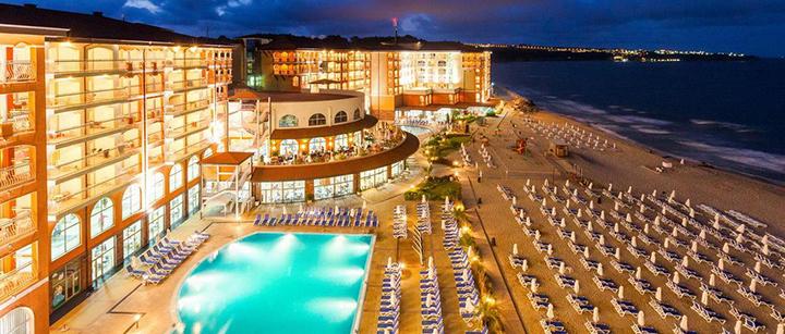 Įsimintinos atostogos BULGARIJOJE! Savaitės poilsis labai gerai vertinamame Sol Luna Bay Resort 4* viešbutyje ant jūros kranto.