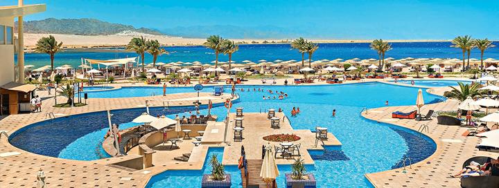 Nepraleiskite progos kokybiškoms atostogoms  - ilsėkitės EGIPTO pakrantėje! Savaitė turistų puikiai vertinamame 5* viešbutyje BARCELO TIRAN SHARM!