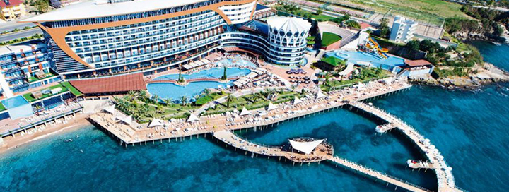 Nuostabios atostogos mėgaujantis prabanga ant jūros kranto TURKIJOJE! 7 naktys puikiame 5* viešbutyje GRANADA LUXURY OKURCALAR.