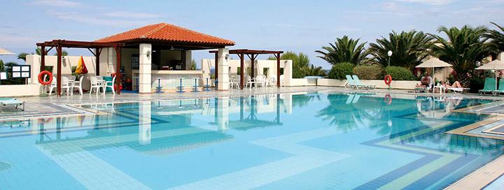 Svajonių atostogos erdvioje jūros pakrantėje žavingoje KRETOS saloje! Savaitės poilsis labai gerame 4* viešbutyje.