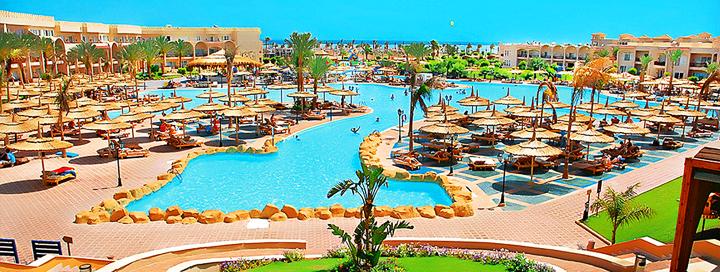 Mėgaukitės komfortu EGIPTO Šarm el Šeicho kurorte! Savaitė 5* viešbutyje su vandens kalneliais!