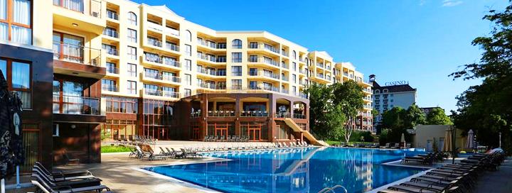 Puikios šeimos atostogos Bulgarijoje! Savaitė Auksinių Kopų kurortinėje zonoje įsikūrusiame 4* viešbutyje.