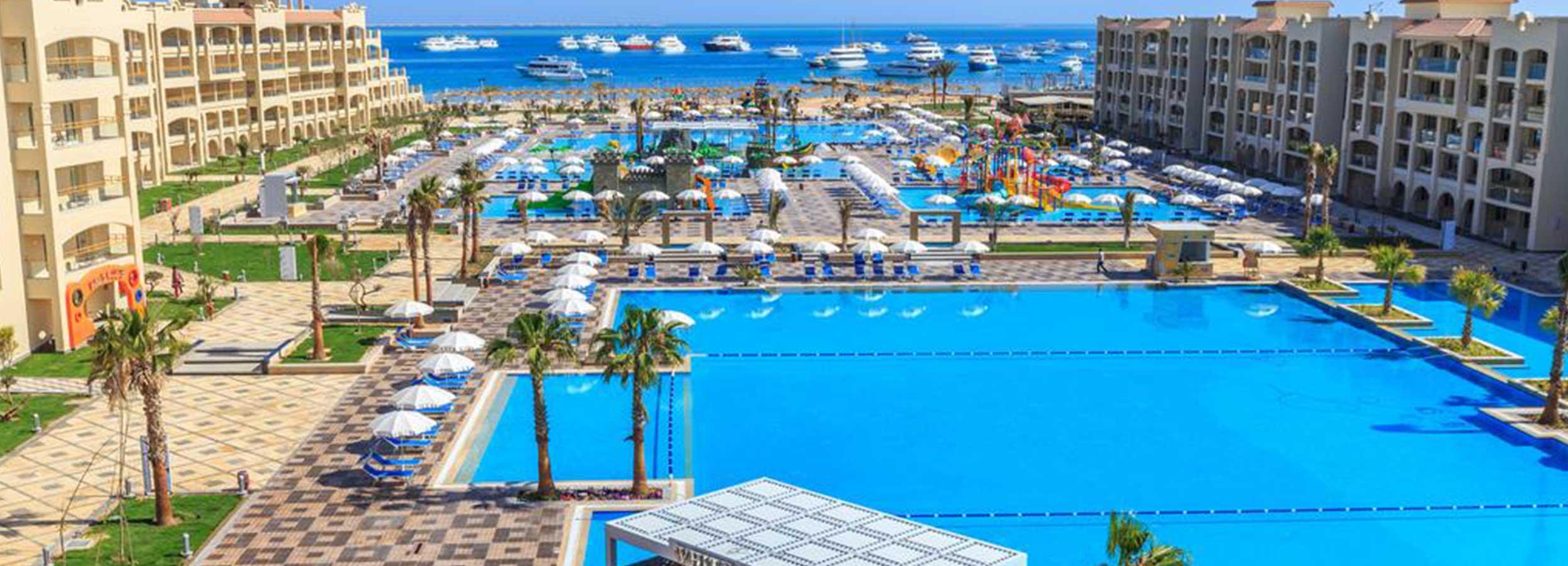 Atostogos su šeima ant jūros kranto EGIPTE, Hurgadoje! Savaitės poilsis 5* viešbutyje ALBATROS WHITE BEACH RESORT.