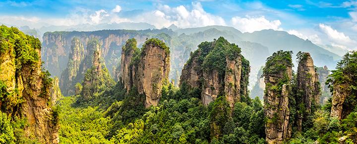 """Užburianti egzotinė kelionė į KINIJĄ - didžiausi miestai ir """"Avataro"""" kalnai! 13 dienų trukmės kelionė su skrydžiu!"""