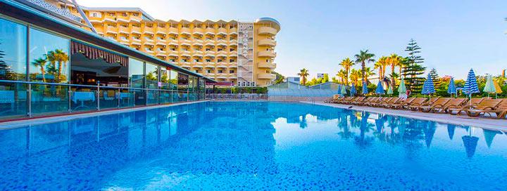 Mėgaukitės poilsiu TURKIJOJE! Savaitė 5* viešbutyje BEACH CLUB DOGANAY.