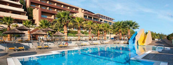 Elegantiškas poilsis su puikia panorama žavingoje KRETOJE! Savaitė poilsio labai gerai vertinamame BLUE BAY RESORT 4* viešbutyje.