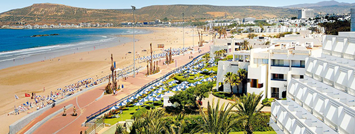 Atostogos MAROKE! Įsimintina savaitė netoli Agadiro miesto centro, labai gerai vertinamame  4* viešbutyje.