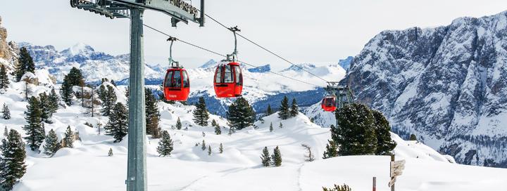 Įspūdingos žiemos atostogos slidinėjant ITALIJOS Dolomituose! Savaitė aktyvaus poilsio 3* viešbutyje RODODENDRO HOTEL (CAMPITELLO) netoli trasų.