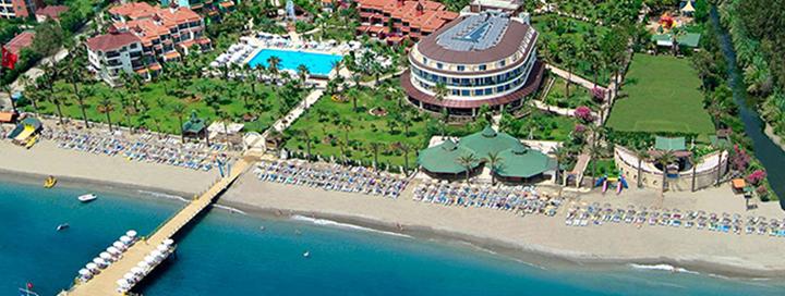 Nepamirštamos atostogos žalioje oazėje TURKIJOJE! Savaitės poilsis gerame 4* viešbutyje SAPHIR HOTEL.