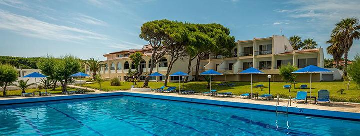 Jaukus poilsis Graikijos pusiasalyje - PELOPONESE! Savaitė  prie paplūdimio įsikūrusiame 4* viešbutyje PAVLINA BEACH.