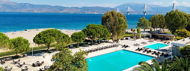 Vaizdingas ir ramus poilsis PELOPONESE, Graikijoje! Savaitė labai gerame 4* viešbutyje PORTO RIO HOTEL.