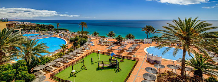 Įspūdingos atostogos Kanaruose, FUERTEVENTŪROS saloje - savaitė gerame 4* viešbutyje SBH CLUB PARAISO PLAYA.