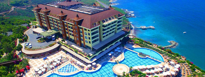 Leiskite sau mėgautis prabangiu poilsiu TURKIJOJE nepaprasto grožio vietoje! Savaitė puikiame 5* viešbutyje UTOPIA WORLD.