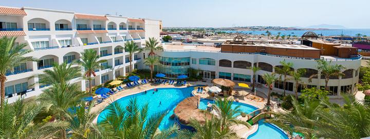 Aktyvaus poilsio mėgėjams -  puikios atostogos kurorto centre EGIPTE! Savaitė 5* viešbutyje su nuosavu smėlio paplūdimiu TROPITEL NAAMA BAY.