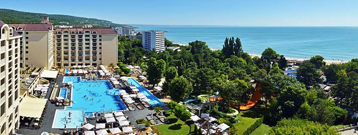 Kokybiškas poilsis Auksinių kopų kurorte BULGARIJOJE! Savaitė labai gerame 5* viešbutyje prie jūros.