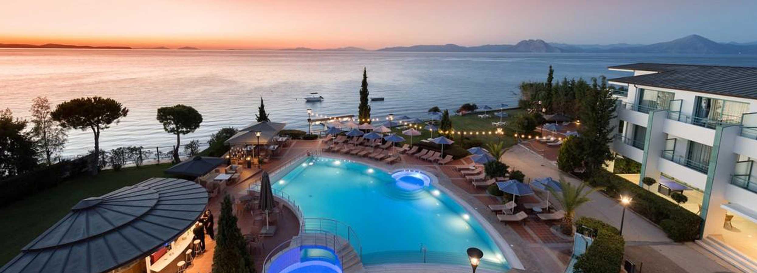 Ramus atokvėpis žalumos apsuptyje PELOPONESE, Graikijoje! Savaitės poilsis 4* viešbutyje POSEIDON PALACE.