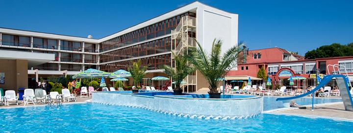 Saulėtas šeimos poilsis BULGARIJOJE! Savaitės atostogos jaukiame 4* viešbutyje MERCURY SUNNY BEACH.