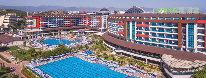 Nepamirštamos šeimos atostogos ALANIJOS regione, TURKIJOJE! Savaitė labai gerame 5* viešbutyje LONICERA RESORT & SPA.
