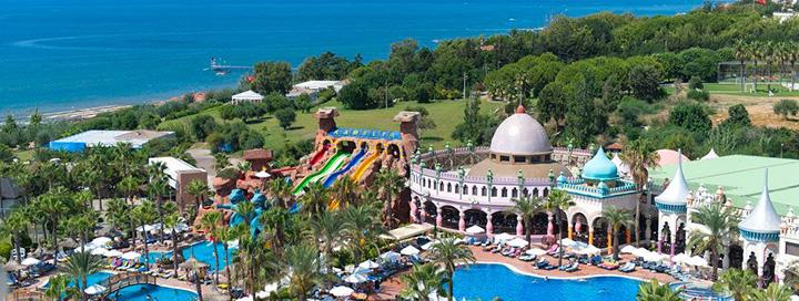 Praleiskite smagias šeimos atostogas TURKIJOJE, Sidės kurorte! Savaitės poilsis gerame KAMELYA SELIN HOTEL 5* viešbutyje ant jūros kranto.