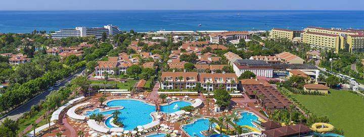 Pramogų kupinos atostogos po karšta TURKIJOS saule Sidės kurorte! Savaitės poilsis gerame CLUB HOTEL TURAN PRINCE WORLD 5* viešbutyje ant jūros kranto.