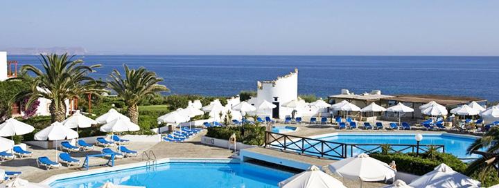 Atostogoms rinkitės žavingąją KRETOS salą! Savaitės poilsis GRAIKIJOJE, 4* viešbutyje ALDEMAR CRETAN VILLAGE BEACH RESORT.