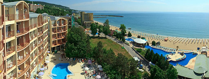 Nepamirštamos šeimos atostogos Auksinių kopų kurorte BULGARIJOJE! Savaitės poilsis 4* viešbutyje.
