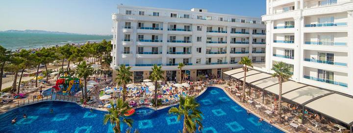 Smagus poilsis su šeima prie jūros ALBANIJOJE! Savaitės atostogos moderniame 5* viešbutyje ant jūros kranto.