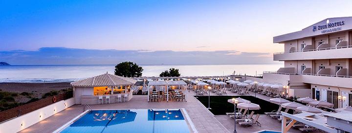 Ramus poilsis ant jūros kranto KRETOS saloje! Saulėtos savaitės trukmės atostogos gerame 4* viešbutyje.