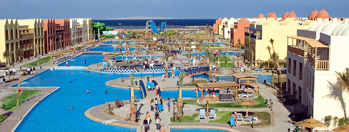 Smagios šeimos atostogos prie jūros EGIPTE, Hurgados kurorte!  7 n. poilsis 5* viešbutyje TITANIC BEACH SPA & AQUA PARK.