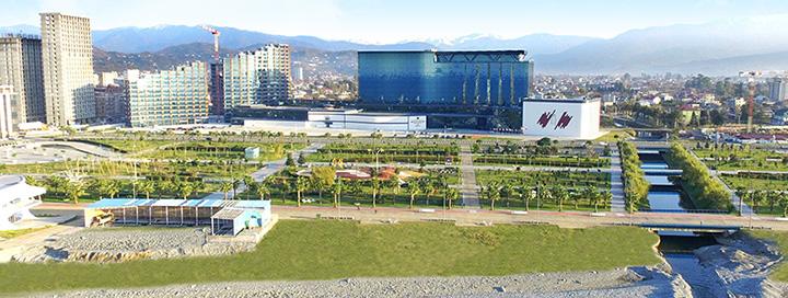 NAUJIENA! Atostogos ryškiaspalvėje GRUZIJOJE, Batumio kurorte! Savaitės poilsis 5* viešbutyje EUPHORIA HOTEL.