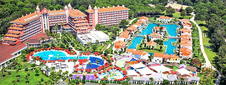 Pramogų kupinas poilsis visai šeimai TURKIJOJE, Beleko kurorte! Savaitės atostogos 5* viešbutyje IC HOTELS SANTAI FAMILY RESORT.