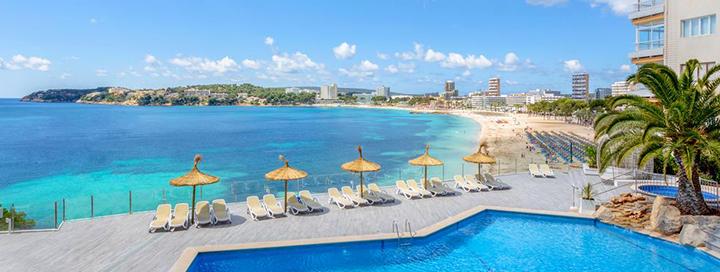 Praleiskite įsimintinas atostogas MALJORKOJE, Ispanijoje! Savaitė 4* viešbutyje SUNLIGHT BAHIA PRINCIPE CORAL PLAYA.