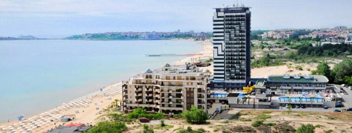 Saulėtas poilsis su šeima prie jūros BULGARIJOJE! Savaitė 4* viešbutyje BURGAS BEACH.