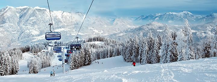 Slidinėjimo atostogos ITALIJOS Dolomituose! Savaitė 2* viešbutyje VERDA VAL HOTEL.