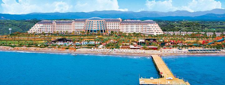 Smagios šeimos atostogos TURKIJOJE! 7 n. šiuolaikiškame 5* viešbutyje LONG BEACH RESORT HOTEL!