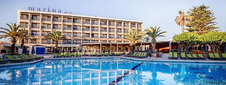 Ištrūkite į saulėtąją KRETĄ! Savaitės atostogos 5* viešbutyje ant jūros kranto SUNCONNECT MARINA BEACH.