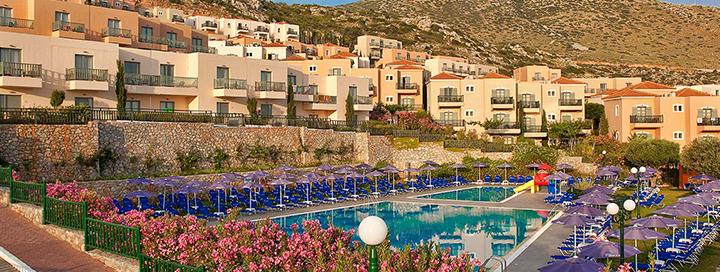 Saulėta pakrantė KRETOS saloje! Savaitė erdviame ir turistų pamėgtame 4* viešbutyje SMARTLINE THE VILLAGE RESORT & WATERPARK.