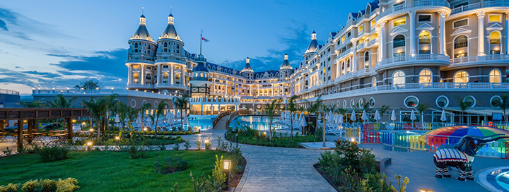Pramogų kupinos šeimos atostogos TURKIJOJE, Alanijoje! 7 n. 5* viešbutyje HAYDARPASHA PALACE.