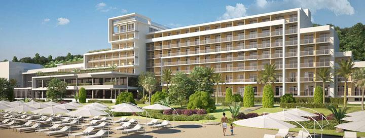Saulėtas poilsis Auksinių kopų kurorte, BULGARIJOJE! Savaitė 4* viešbutyje GRIFID ENCANTO BEACH.