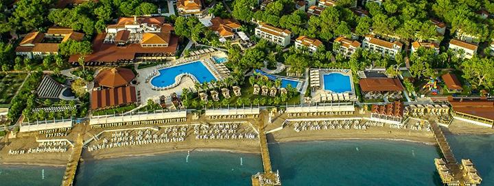 PUIKUS PASIŪLYMAS ŠEIMOMS: atostogos gamtos apsuptyje Turkijoje! Savaitė labai gerame 5* viešbutyje CRYSTAL FLORA BEACH