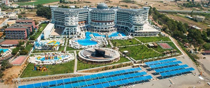 Atostogos prie jūros Sidės regione TURKIJOJE! Savaitės poilsis gausybę pramogų siūlančiame 5* viešbutyje SEA PLANET RESORT & SPA.