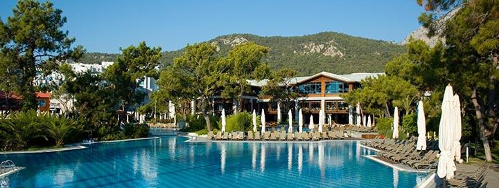 Saldus poilsis prie jūros TURKIJOJE, Kemero kurorte! VIP atostogos puikiame 5* viešbutyje RIXOS SUNGATE.