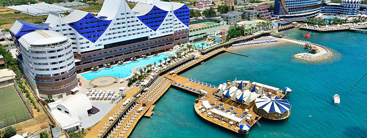Nuotaikingos atostogos Alanijos kurorte, TURKIJOJE! 7 n. poilsis 5* viešbutyje ORANGE COUNTY RESORT HOTEL ALANYA.