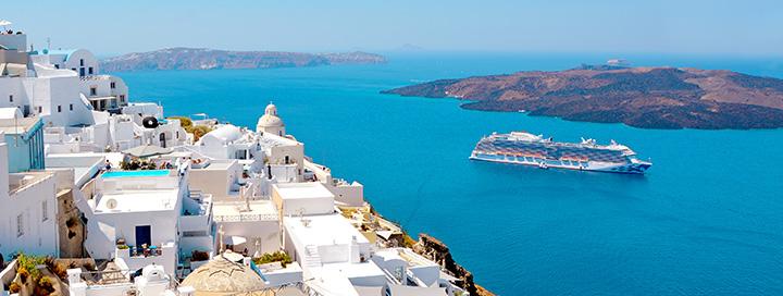 Aplankykite VIDURŽEMIO perlus – Santorinį, Splitą, Dubrovniką vienos kelionės metu! 8 dienų kruizas MSC SINFONIA laivu su pilnu maitinimu, įskaičiuotais skrydžiais ir pervežimais.